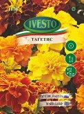 """Семена от Тагетис патула - микс от цветове - От серия """"Ивесто"""""""