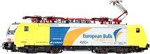 Електрически локомотив - ES64F4 - 092 - European Bulls - ЖП модел -