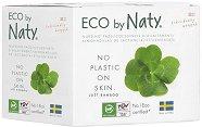 Подплънки за гърди за еднократна употреба - Eco by Naty - Комплект от 30 броя -