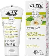 Lavera Mattifying Balancing Cream - Матиращ и балансиращ крем за лице за комбинирана кожа - крем