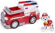 """Маршъл с пожарна кола - Детска играчка от серията """"Пес патрул"""" - играчка"""