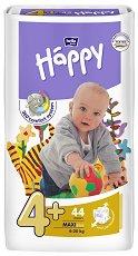 Bella Baby Happy - Maxi 4+ - Пелени за еднократна употреба за бебета с тегло от 9 до 20 kg -