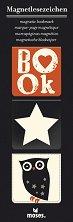 Магнитни разделители за книги - Бухал - Комплект от 3 броя -