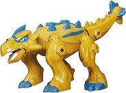 """Динозавър - Анкилозавър - Сглобяема фигура от серията """"Hero Mashers: Jurassic World"""" - раница"""