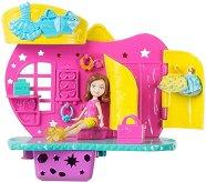 """Моден бутик с фигурка на Лила - Комплект за игра от серията """"Polly Pocket"""" - играчка"""