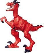 """Динозавър - Велоцираптор - Сглобяема фигура от серията """"Hero Mashers: Jurassic World"""" - раница"""