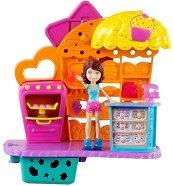 """Пекарната на Леа - Комплект за игра от серията """"Polly Pocket"""" - играчка"""