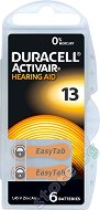 Батерия Duracell Activeair 13 - Цинк-Въздушна 1.45V - 6 броя -