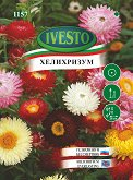 """Семена от Хелихризум - микс от цветове - От серия """"Ивесто"""""""
