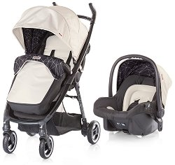 Бебешка количка 2 в 1 - Motto - С 4 колела -