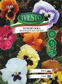 """Семена от Теменужка Швейцарски гигант - микс от цветове - От серия """"Ивесто"""""""