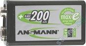 Батерия 8.4V E-Block - Акумулаторна NiMH (6F22) 200 mAh -
