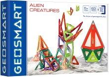 Извънземни същества - Магнитен конструктор - играчка