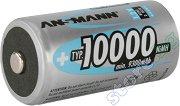 Батерия D - Акумулаторна NiMH (HR20) 10 000 mAh -