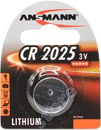 Бутонна батерия CR2025 - Литиева 3V - 1 брой - батерия