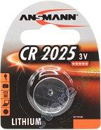 Бутонна батерия CR2025 -