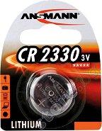 Бутонна батерия CR2330 - Литиева 3V - 1 брой -