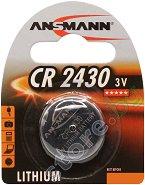 Бутонна батерия CR2430 - Литиева 3V - 1 брой -