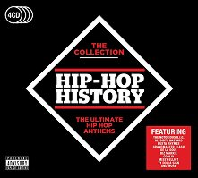 The Collection Hip-Hop History - 4 CDs -