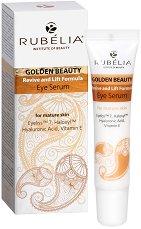 Rubelia Golden Beauty Eye Serum - Околоочен серум за зряла кожа - душ гел
