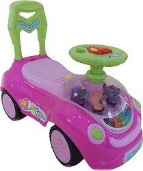 Детска кола за бутане - Happy Day -