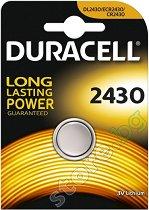 Бутонна батерия DL2430 - Литиева 3V - 1 брой -