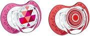 Залъгалки от силикон - Ethno - Комплект от 2 броя - залъгалка