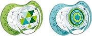 Залъгалки от силикон - Ethno - Комплект от 2 броя -