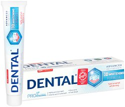 Dental Pro 3D Whitening Toothpaste - Избелваща паста за зъби -