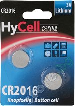 Бутонна батерия CR2016 - Литиева 3V - 1 броя -