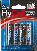 Батерия AA - Акумулаторна NiMH (HR6) 2700 mAh - батерия