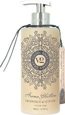 "Vivian Gray Aroma Selection Grapefruit & Vetiver Cream Soap - Течен сапун в диспенсър с аромат на грейпфрут и ветивер от серията ""Aroma Selection"" -"