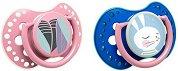 Залъгалки от силикон - Follow the Rabbit - Комплект от 2 броя -