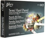 """Сухи пастели - Semi Hard Pastel - Комплект от 12, 24, 36 или 48 цвята от серията """"Gallery"""""""