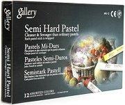 Сухи пастели - Semi Hard Pastel