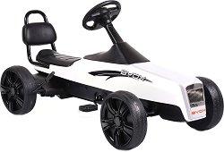Детска кола с педали - Happy - играчка