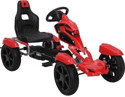 Детска кола с педали - Adrenaline EVA - играчка