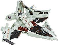 """Боен кораб - Комплект от 3 фигури от серията """"Star Wars: Micro Machines"""" - играчка"""
