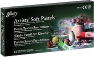 """Сухи пастели - Artists Soft Pastels - Комплект от 12, 24, 36 или 48 цвята от серията """"Gallery"""""""