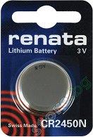 Бутонна батерия CR2450N - Литиева 3V - 1 брой - батерия