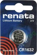 Бутонна батерия CR1632 - Литиева 3V - 1 брой - батерия