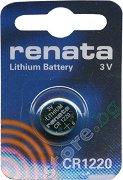 Бутонна батерия CR1220 - Литиева 3V - 1 брой -
