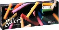 """Сухи пастели - Artists' Extra Soft Pastel - Комплект от 15, 30, 60 или 90 цвята от серията """"Gallery"""""""