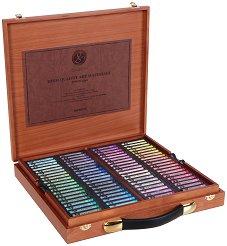 """Сухи пастели в дървен куфар - Artists' Extra Soft Pastel - Комплект от 160 или 200 цвята от серията """"Gallery"""""""