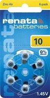 Батерия ZA10 - Цинк-Въздушна 1.4V - 6 броя -