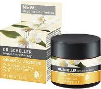 Dr. Scheller Organic Jasmine 24h Moisture Care - Хидратиращ крем за суха кожа с био екстракт от жасмин -