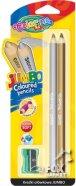 Металикови моливи - Комплект от 2 цвята с острилка - продукт