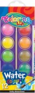 Акварелни бои - Комплект от 12 цвята