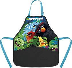 Детска престилка за рисуване - Angry Birds - продукт