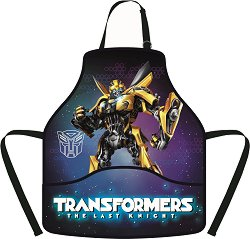 Детска престилка за рисуване - Transformers -
